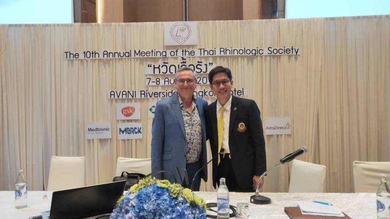 The 10th Annual Meeting of the Thai Rhinologic Society